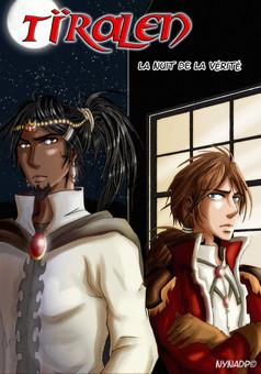 Tïralen - la nuit de la véritée : manga cover