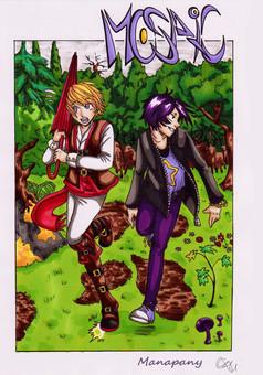 Mosaic : manga couverture