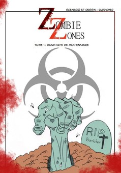 Zombie Zones : manga couverture