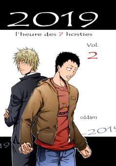 2019 : manga couverture