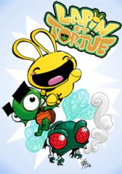 Заяц и черепаха : comic cover