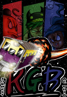 R.G.B. : manga cover