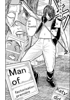 man of factorisation première : manga couverture
