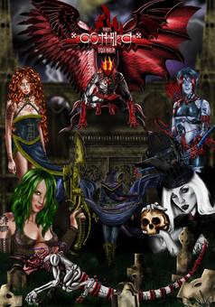 Gothika: Equilibrium : comic cover