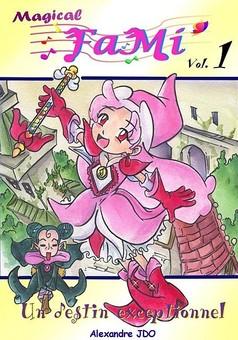 Ojamajo Fami : manga cover