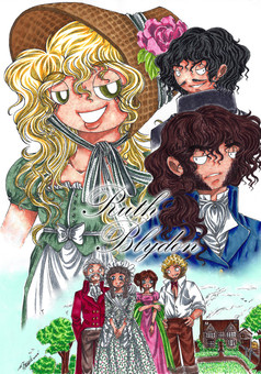 Ruth Blydon : manga couverture