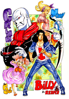 Billy : manga cover
