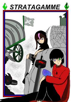 Stratagamme : manga cover