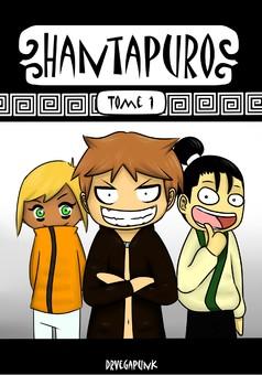 Hantapuro : manga cover
