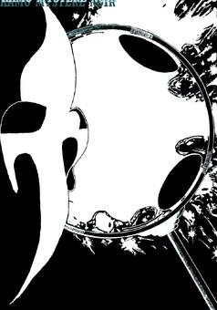 Kamo Mystère Noir : manga couverture