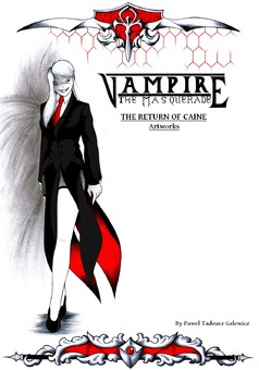 The Return of Caine VTM Artworks : manga couverture