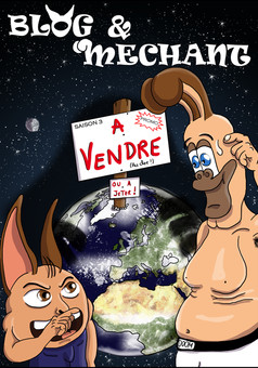 Blog et Méchant : comic cover
