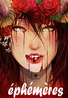 Ephémères : manga couverture