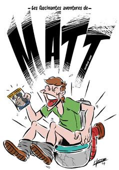 MATT : comic couverture