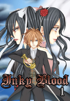 INKY BLOOD : manga couverture