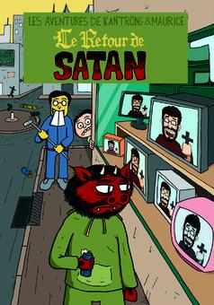 Le Retour de Satan : comic couverture
