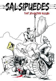 Salsipuedes : comic portada