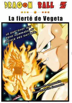 La fierté de Vegeta : manga couverture