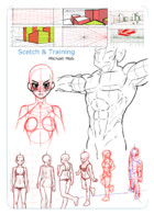Michaël Mab Sketchs & Training: cover
