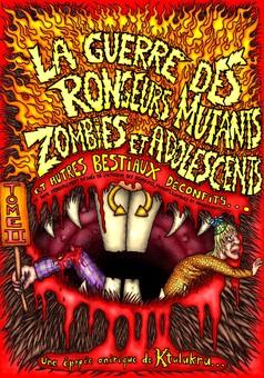 La guerre des rongeurs mutants : comic couverture