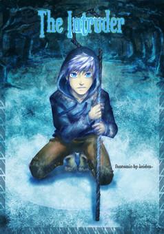 The intruder : manga cover