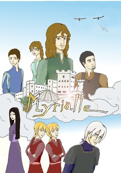 Myrialle : manga couverture