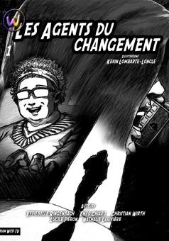 Les Agents du changement : manga couverture