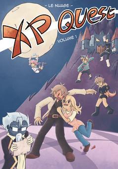 XP Quest : manga couverture