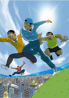 Reve du Football Africain : manga cover