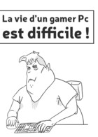 La vie d'un gamer pc: cover
