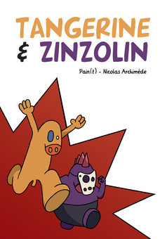 Tangerine et Zinzolin : comic cover