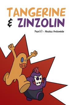 Tangerine et Zinzolin : comic couverture