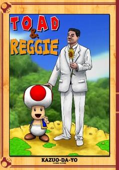 Toad et Reggie : manga couverture