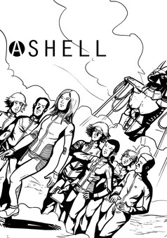 Ashell : comic couverture
