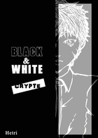 Black & White - CRYPTE: cover