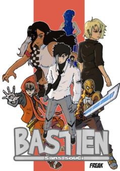 Bastien Sans Souci : manga couverture