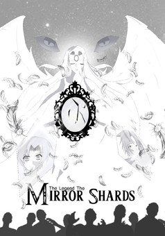 The legend of the Mirror Shards : manga couverture