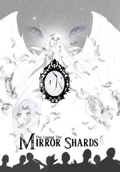 The legend of the Mirror Shards : manga portada