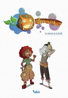 R-Chronicles : comic couverture