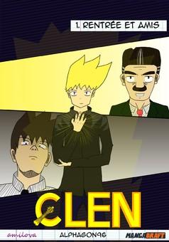 Clen : manga couverture