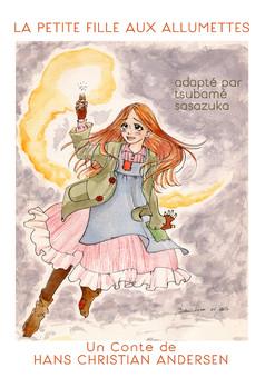 La Petite Fille Aux Allumettes : manga couverture