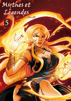 Mythes et Légendes : manga couverture
