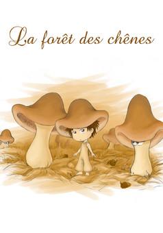 Forêt des Chênes : comic couverture