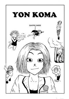 Yon Koma : manga cover