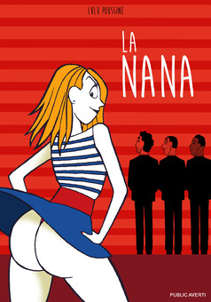 La Nana : comic couverture