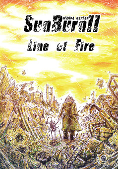 SunBurn!! Line of Fire : manga couverture