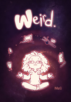 Weird. : comic couverture