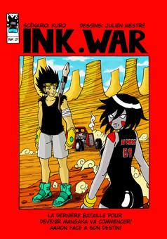 INK.WAR : manga couverture