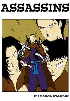ASSASSINS : manga cover