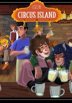 Circus Island : comic cover